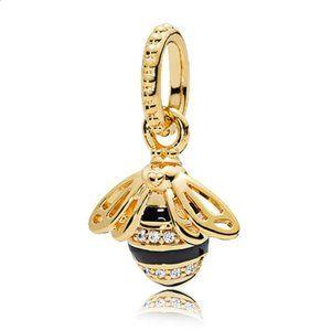 Pandora bee charm Queen Bee Dangle
